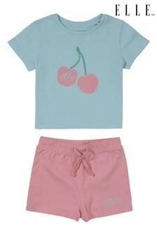 ELLE T-Shirt and Short Set