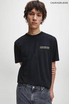 Calvin Klein Black Back Photo T-Shirt