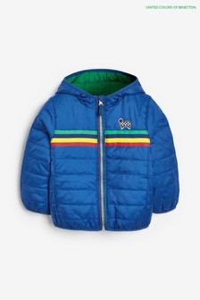 Benetton Blue Padded Jacket