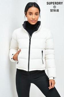 Pikowana kurtka Superdry Luxe Alpine