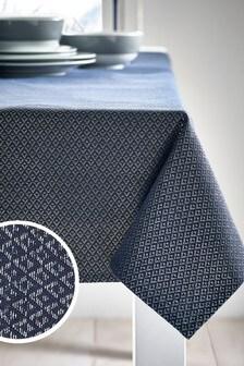 Metallic Geo Table Cloth