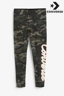 Converse Youth Camo Printed Leggings
