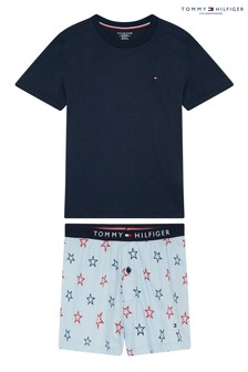 Tommy Hilfiger Blue Star Print Pyjama Set