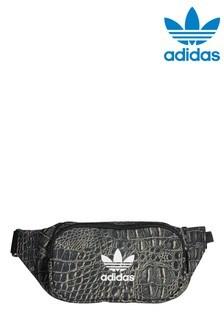 Сумка-кошелек на пояс с имитацией змеиной кожи adidas Originals