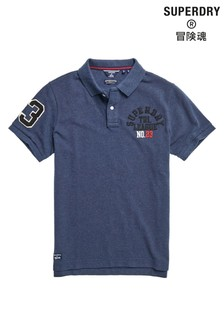 Superdry Grey Superstate Polo