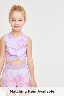 Sports Crop Top (5-16yrs)