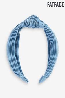 FatFace Blue Pleated S Headband