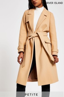 River Island Beige Utility Trench Coat