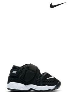 Nike Black/White Rift Infant Sandals