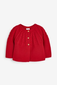 Cable Detailed Cardigan (0mths-3yrs)