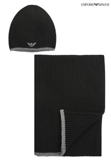 Emporio Armani Hat And Scarf Set