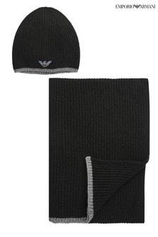 Emporio Armani 冷帽及圍巾套裝