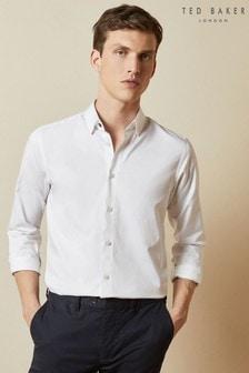 Ted Baker Bobcut Cotton Plain Shirt