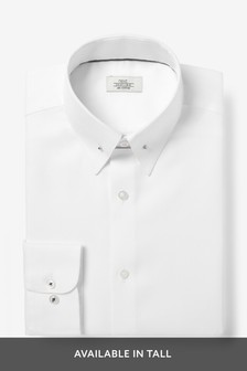 Slim Fit Textured Shirt With Collar PIn
