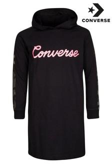 שמלה לילדות של Converse בשילוב הדפס קמופלאז'