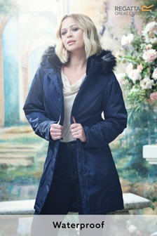 Regatta Kimberley Walsh Edit Blue Lexis Waterproof Jacket