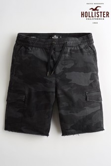Hollister Cargoshorts in Camouflage