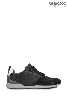 Geox Men's Snake 2 Black Sneakers