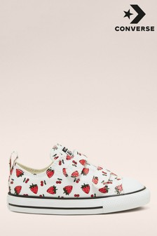 Converse Strawberry Print Infant Trainers