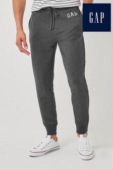 Gap Grey Arch Logo Fleece Joggers