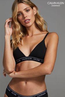 Calvin Klein Black Triangle Bralette