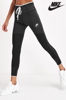 Черные леггинсы  7/8 Nike Air