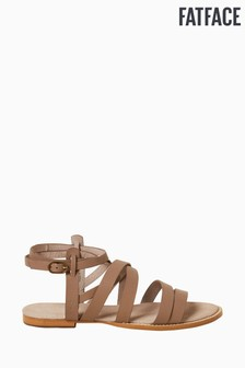 FatFace Brown Sophie Strappy Sandals