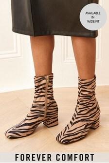 Forever Comfort®方跟襪靴