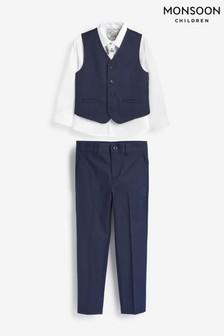 Monsoon Blue Cosgrove Suit Set