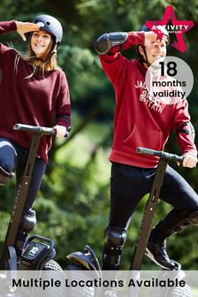 Segway Thrill Day Out For Two Gift Experience by Activity Superstore