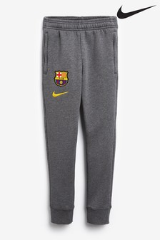 Nike Grey FC Barcelona Fleece Joggers