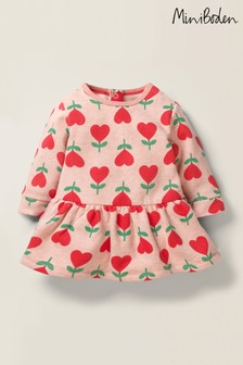 Boden Pink Cosy Jersey Dress