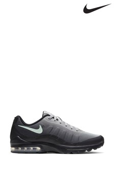 Nike Black/White/Green Air Max Invigor Trainers