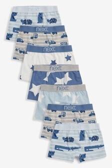 四角褲五件裝 (2-12歲)