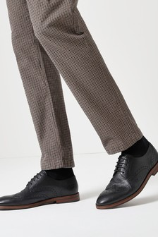 Кожаные туфли броги Motion Flex