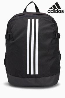 Черный рюкзак с 3 полосками adidas