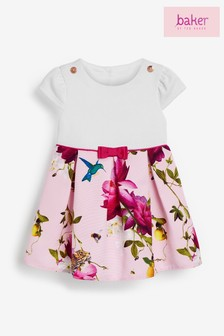 Baker by Ted Baker Baby Girls Floral Occasion Dress