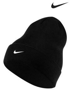 Черная шапка-бини Nike Kids