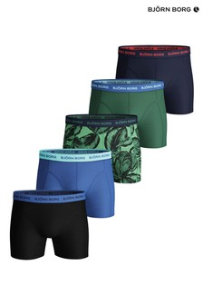 Bjorn Borg Leafy Sammy Shorts Five Pack