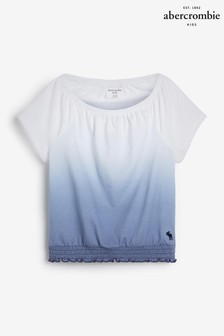 Abercrombie & Fitch Blue Dye Effect T-Shirt