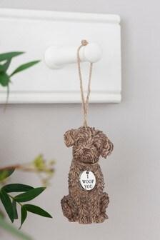 Charlie Cockapoo Hanging Ornament Decoration