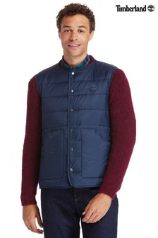 Timberland® Navy Quilted Gilet