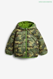 Benetton Grey Camo Jacket