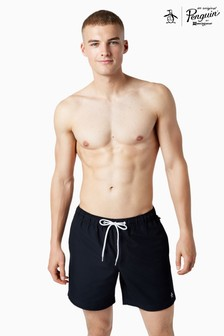 Original Penguin® Black Daddy Swim Shorts