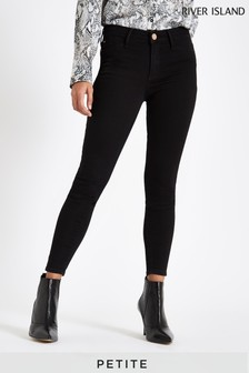 River Island Black Molly Petite Jeans