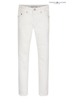 Tommy Hilfiger White Nora Skinny Jeans