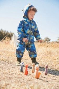 Зимний комбинезон с принтом динозавров (3 мес.-7 лет)