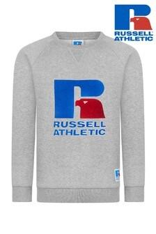 Толстовка с круглым вырезом Russell Athletic