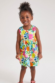 Printed Organic Cotton Dress (3mths-7yrs)