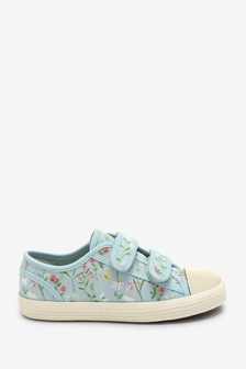 Touch Fastening Canvas Trainers